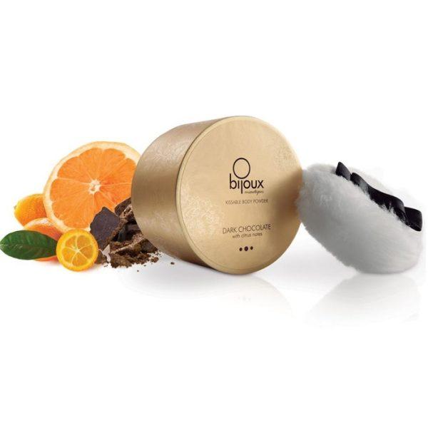 Cipria corpo cioccolato arancia brillante baciabile Bijoux Indiscrets