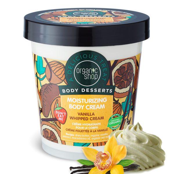 Crema-Corpo-Idratante-Panna-montata-vaniglia-Organic-Shop
