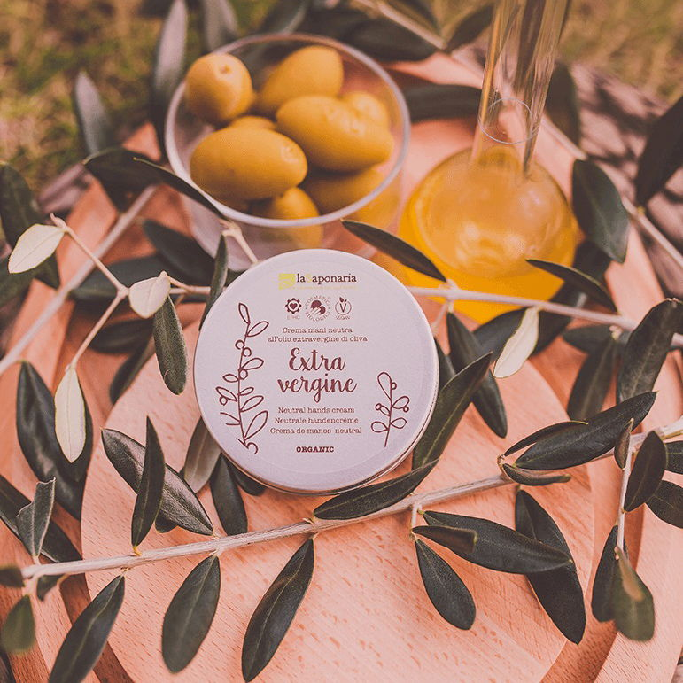 Crema mani all'olio extravergine di oliva LaSaponaria