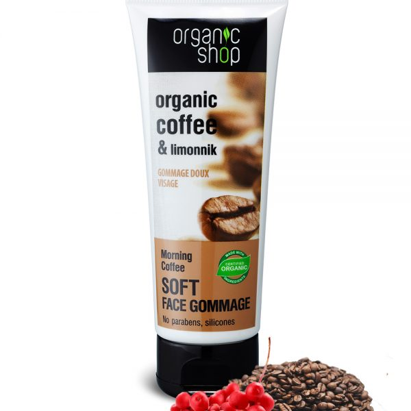 Gommage-tonificante-viso-Caffè-biologico-Schisandra-Organic-Shop
