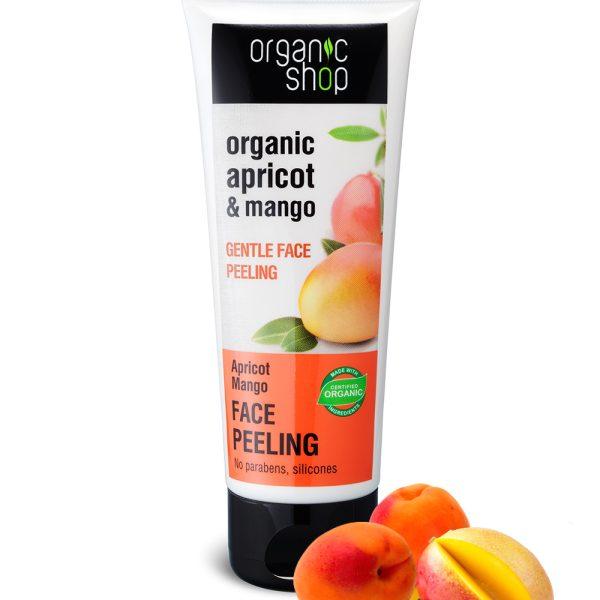 Peeling viso purificante Albicocca biologica Mango - Organic Shop
