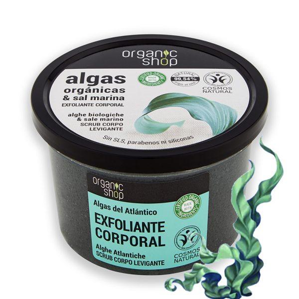 Scrub-Corpo-Esfoliante-Alghe-Biologiche-sale-marino-Organic-Shop