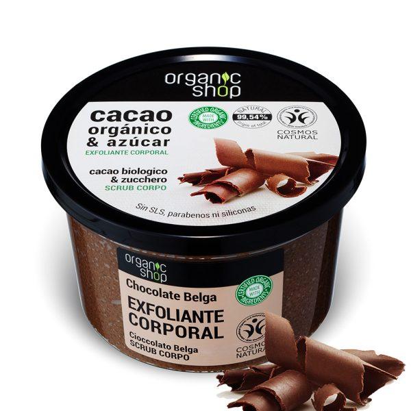 Scrub-Corpo-Esfoliante-Cacao-Biologico-zucchero-Organic-Shop