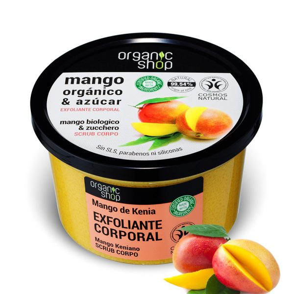 Scrub-Corpo-Esfoliante-Mango-Biologico-zucchero-Organic-Shop