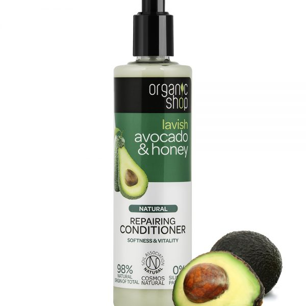 Balsamo-ristrutturante-Avocado-Miele-Organic-Shop