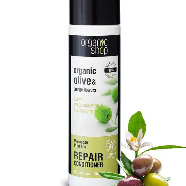 Balsamo-ristrutturante-Oliva-biologica-fiore-arancio-organic-shop