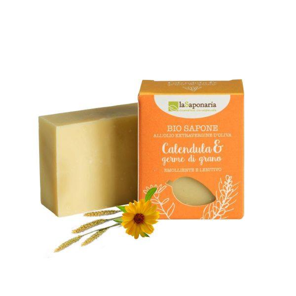 Bio Sapone Calendula & Germe di Grano - LaSaponaria
