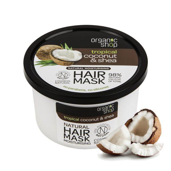 Maschera-capelli-idratante-Cocco-Organic-Shop