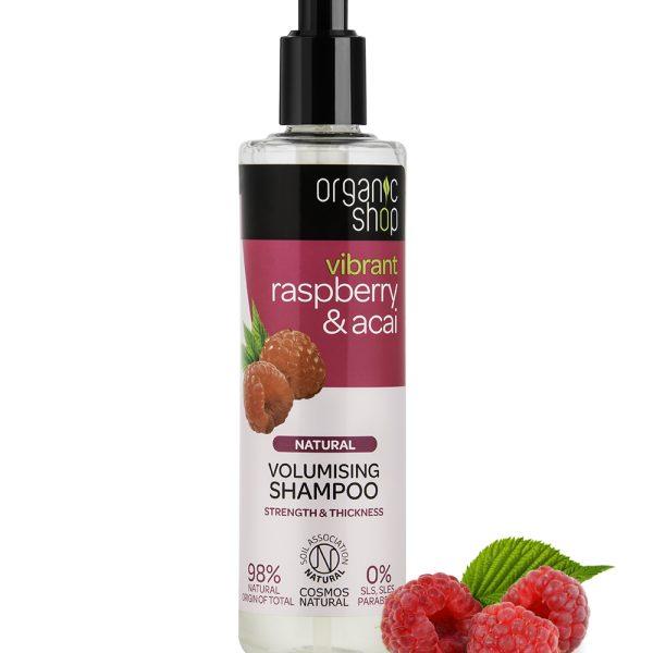 Shampoo-volumizzante-Lampone-Acai-organic-shop