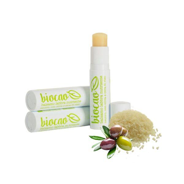 "Balsamo labbra nutriente neutro ""Biocao"" - La Saponaria"