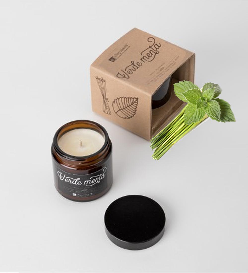 Candela-da-massaggio-verdementa-lemongrass-menta-lasaponaria