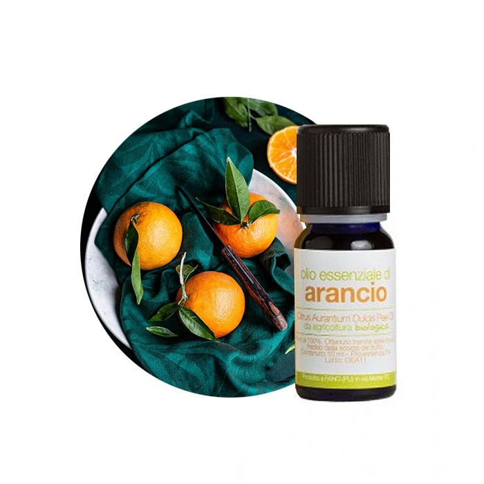 olio esseniale di arancio dolce la saponaria