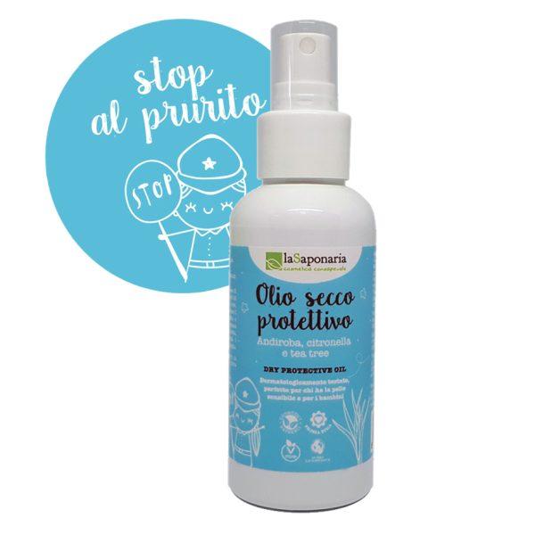 Spray antizanzare protettivo 100% naturale - La Saponaria