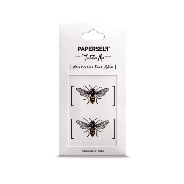 Bee Tatuaggio temporaneo Ape Paperself
