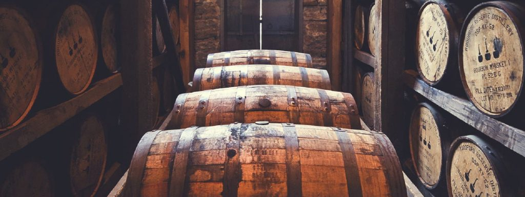 Bourbon aroma tostato e caramellato, vero Kentucky