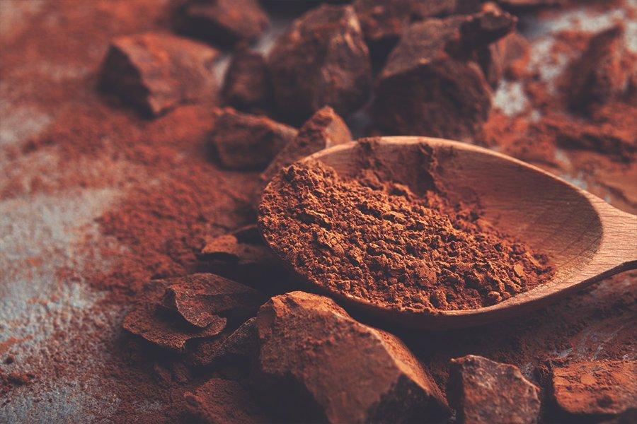Cioccolato profumo inebriante di cacao, tra amaro e dolcezza.