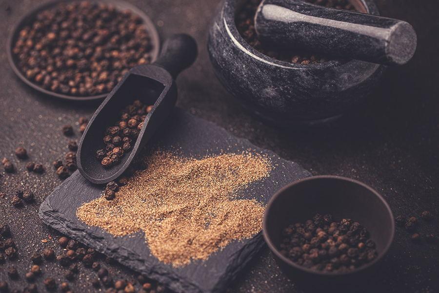 Pepe nero l'aroma antico, oro nero delle spezie