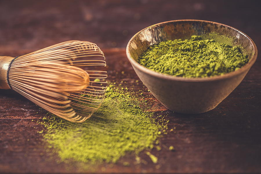 Tè verde dall'antico Oriente un aroma fresco e benefico